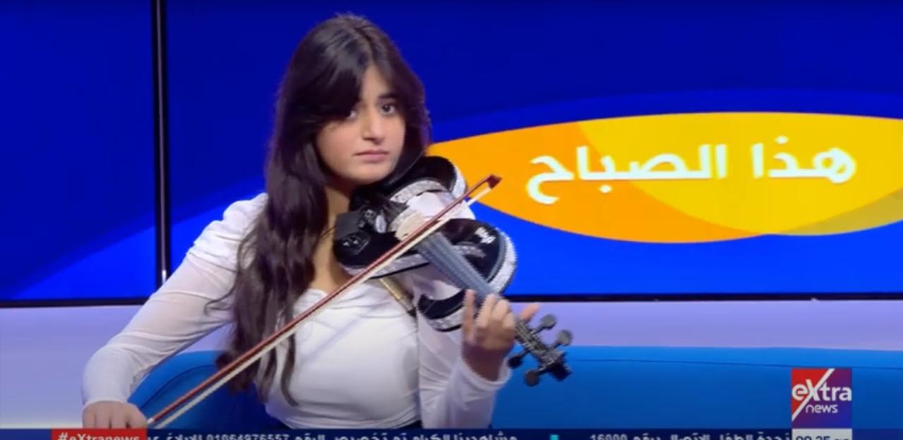 فيديو| ألفت ميشيل: نفسي تامر حسني يسمع عزفي على الكمان