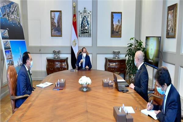الرئيس السيسي يستعرض الموقف التنفيذي لمشروعات المدن الجديدة على مستوى الجمهورية