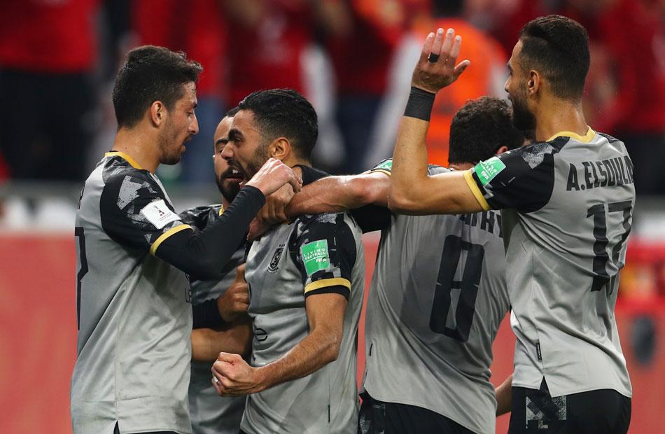الأهلي يفوز على الدحيل القطرى ويتأهل لنصف النهائي مع بايرن ميونخ في مونديال الأندية