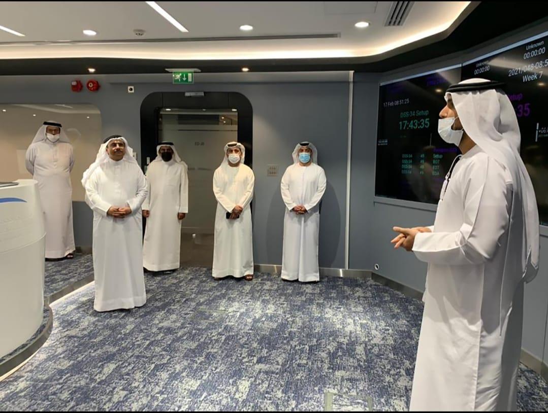 العسومي يزور مركز محمد بن راشد للفضاء ويؤكد: نفتخر بالإنجازات العربية العالمية التي تحققها الإمارات