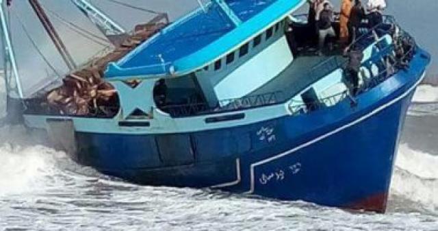 ضبط مالك المركب الغارقة فى بحيرة مريوط بالإسكندرية