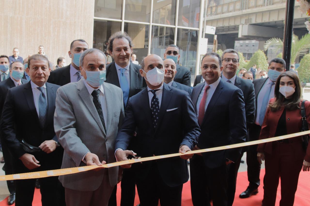 """""""بنك القاهرة"""" يفتتح فرعه الـ 242 بمبنى مؤسسة الأهرام بشارع الجلاء"""