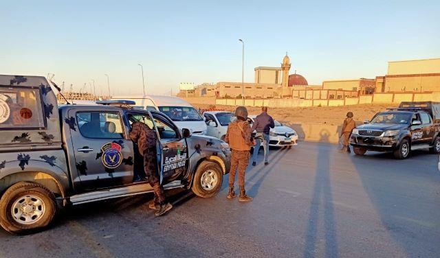 صور| الأمن الوطنى ينفذ حملات أمنية مكبرة فى مدينة بدر لضبط العناصر شديدة الخطورة