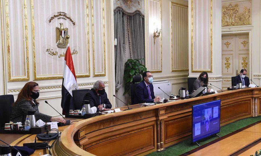"""كلمة رئيس الوزراء امام غرفة التجارة الأمريكية بالقاهرة تحت عنوان """"مصر عام 2021 وما بعدها"""""""