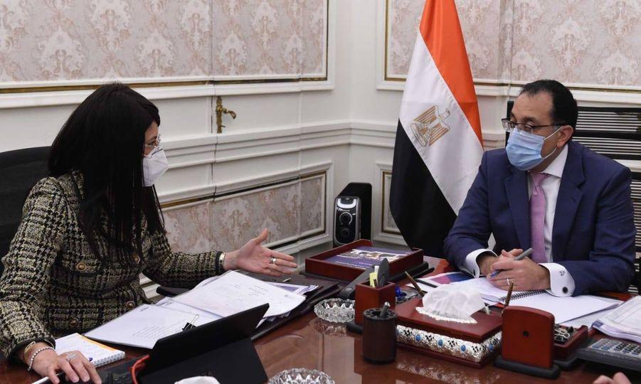 رئيس الوزراء يستعرض مع وزيرة التعاون الدولي نتائج اجتماعات اللجنة العليا المصرية-الأردنية
