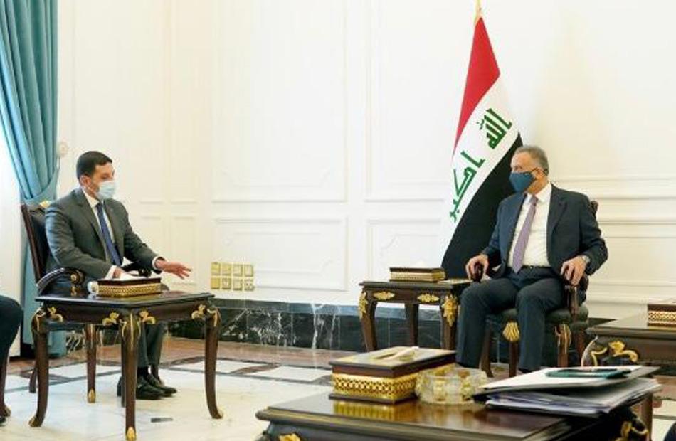الكاظمي: نرحب بكافة الشركات المصرية المتواجدة في العراق ونوفر المساندة لها
