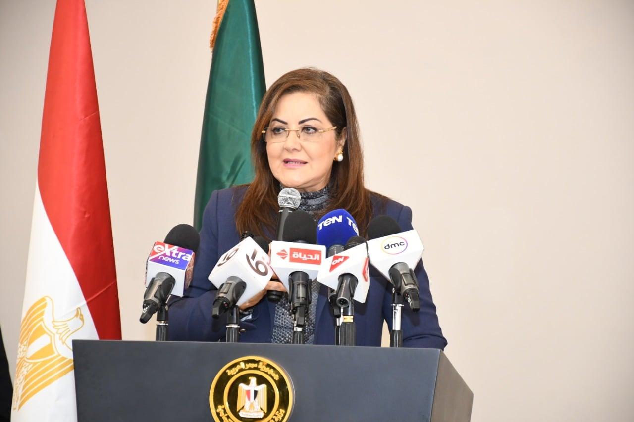 وزيرة التخطيط : جائزة أفضل وزيرة عربية تقدير للدولة وللمرأة المصرية