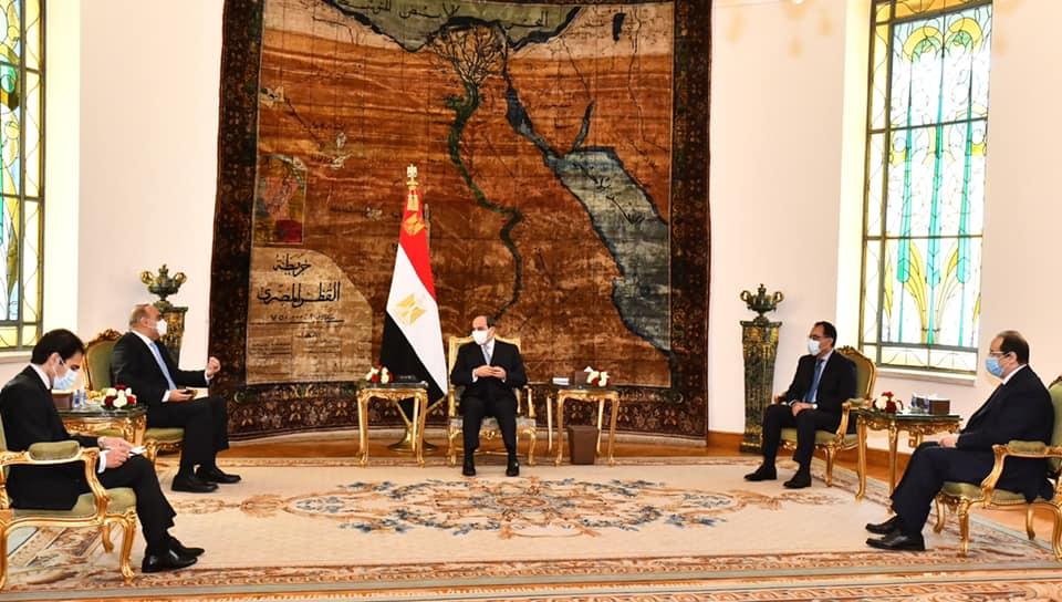 صور | الرئيس السيسي يستقبل رئيس الوزراء الأردني لبحث سبل التعاون المشترك