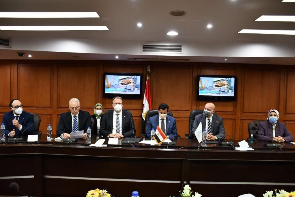 صور | وزير الرياضة يشهد توقيع بروتوكول تعاون لدعم وبناء قدرات الشباب المصري