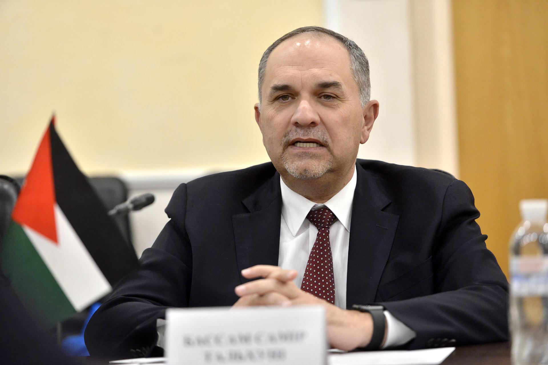 الأردن و فرنسا يبحثان سبل دعم التعاون المشترك فى المجالات القانونية