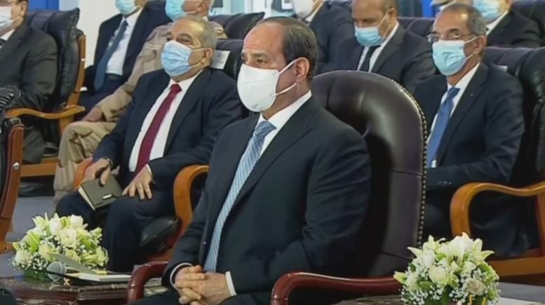 """الرئيس السيسي يشهد افتتاح 4 مستشفيات عسكرية جديدة عبر """"فيديو كونفرانس"""""""