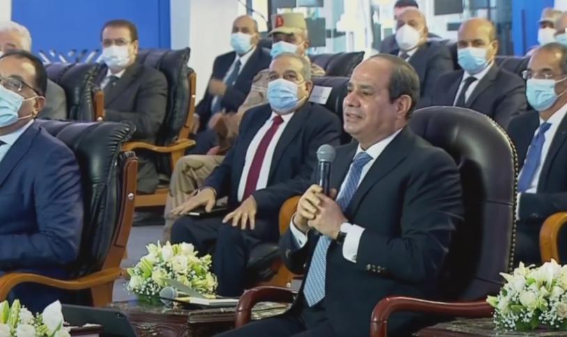 الرئيس السيسي : نسعى للانتهاء من تطبيق التأمين الصحى الشامل خلال 10 سنوات