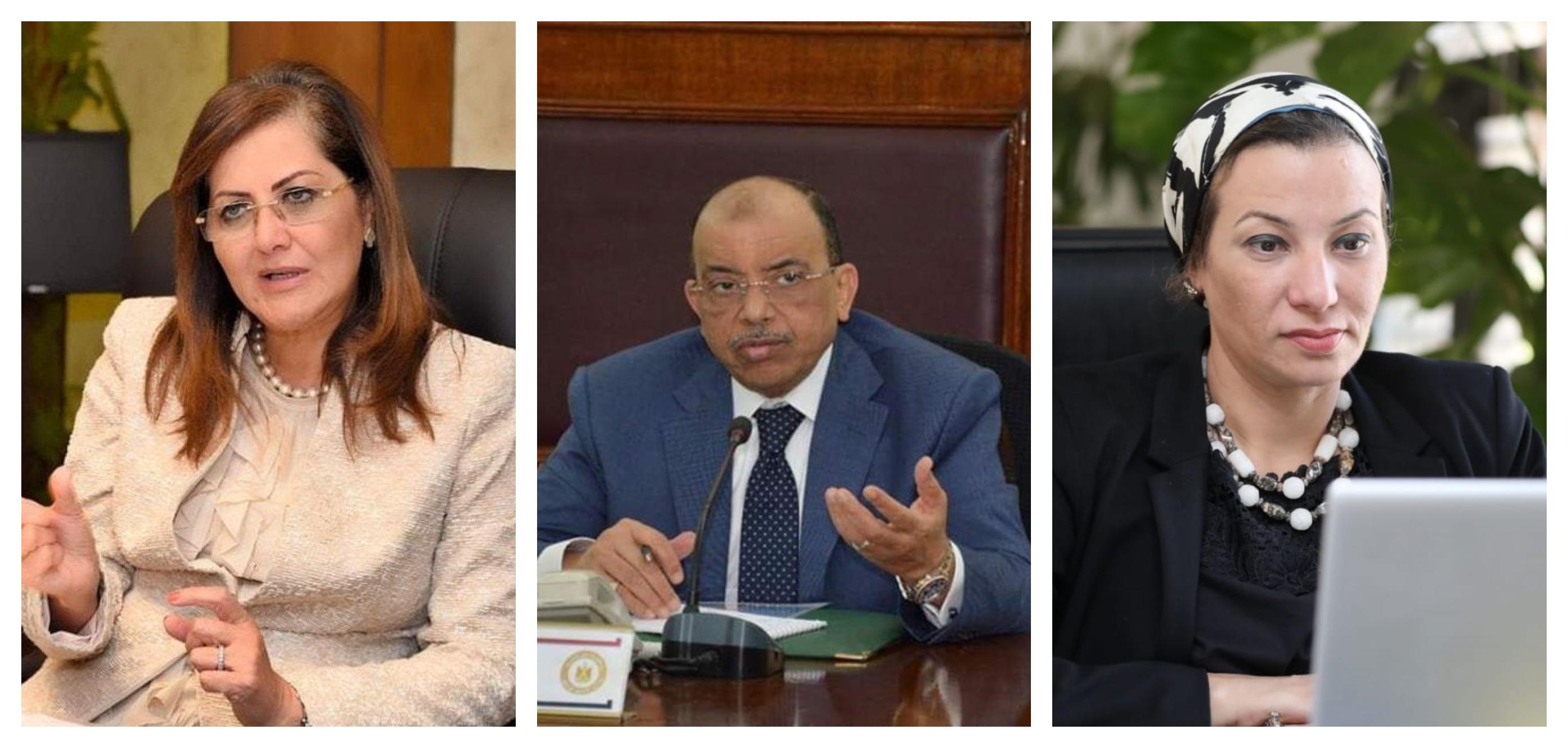 وزراء التخطيط والتنمية والبيئة يتابعون آخر مستجدات منظومة المخلفات الصلبة