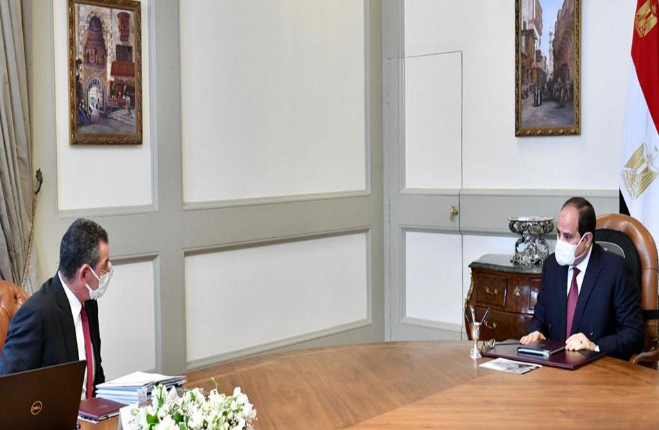 الرئيس السيسي يطلع على نشاط «صندوق تحيا مصر» والخطط الحالية والمستقبلية لدعم برامج الحماية الاجتماعية