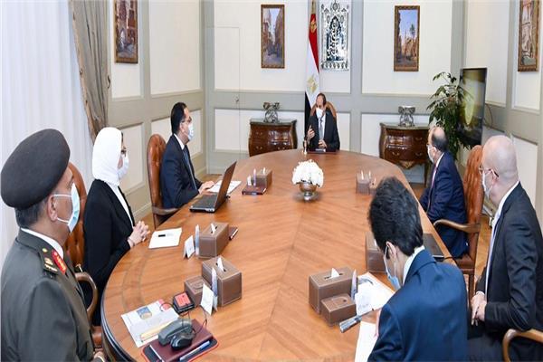 الرئيس السيسي يتابع الموقف التنفيذي للمشروع القومي لتطوير قرى الريف المصري
