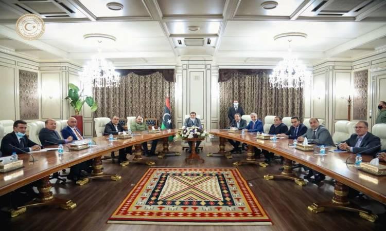اجتماع لحكومة الوحدة الوطنية الليبية للتشاور حول أولويات عملها