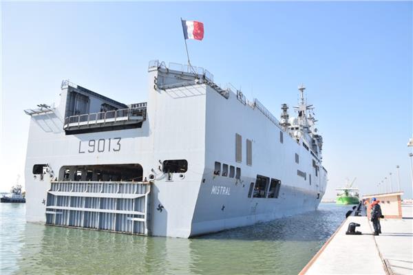 صور| إنطلاق فعاليات التدريب البحرى المشترك المصرى الفرنسى «كليوباترا 2021»