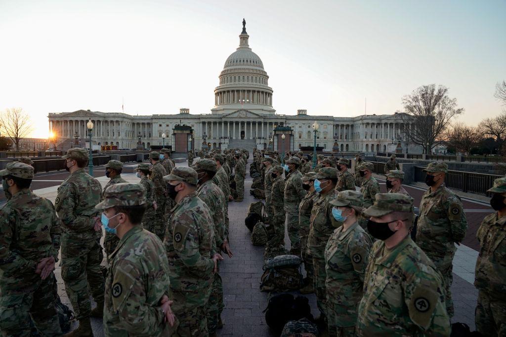 تمديد وجود الحرس الوطني حول الكونجرس الأمريكي