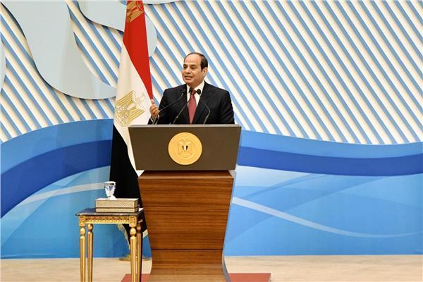نص كلمة الرئيس السيسي خلال احتفالية المرأة المصرية والأم المثالية