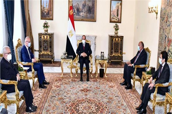 الرئيس السيسي يستقبل وزير الشئون الخارجية والأوروبية الكرواتي والهجرة غير الشرعية تتصدر اللقاء