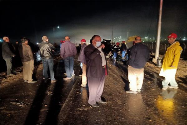 السيطرة على انفجار سيارة محملة بأسطوانات البوتاجاز