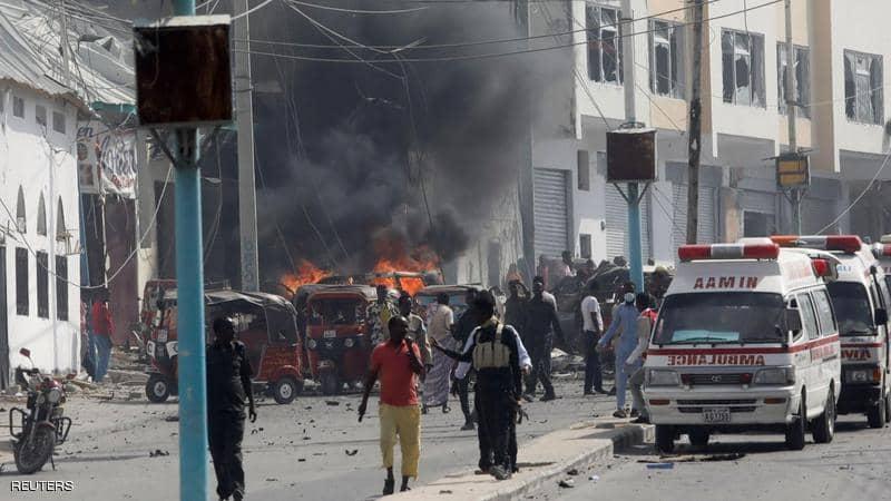انفجار مطعم يخلف 20 قتيلاً و30 مصاباً في العاصمة الصومالية