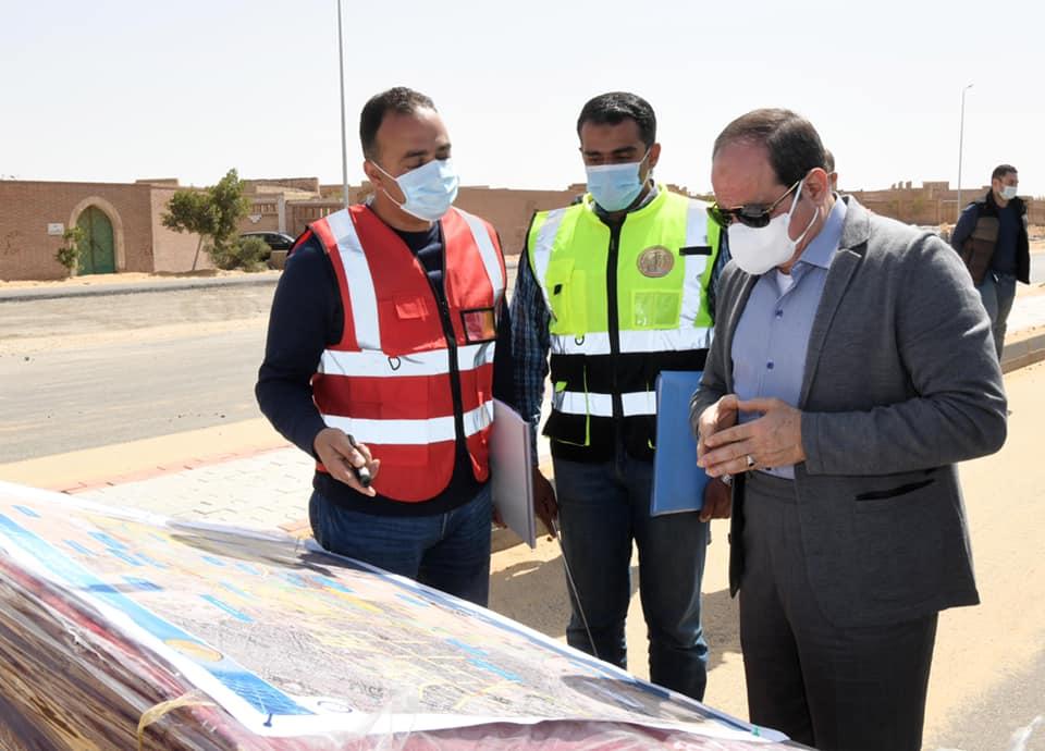 تفقد الرئيس السيسي أعمال تطوير شبكة الطرق والمحاور تتصدر اهتمامات صحف القاهرة