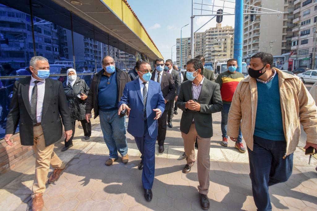 جولة محافظ الإسكندرية-2