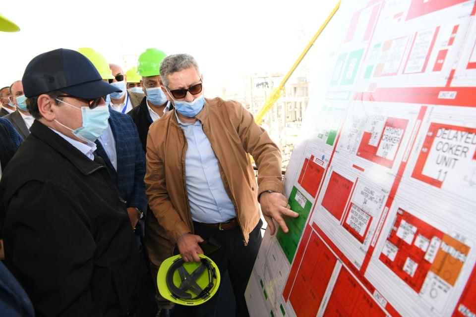 جولة وزير البترول-2