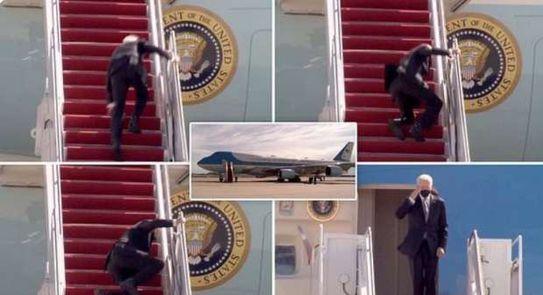 البيت الأبيض يعلق على حادث سقوط الرئيس الأمريكي جو بايدن