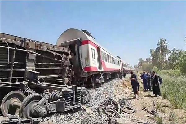 النيابة العامة: خسائر حادث قطاري سوهاج اكثر من 25 مليون جنيه