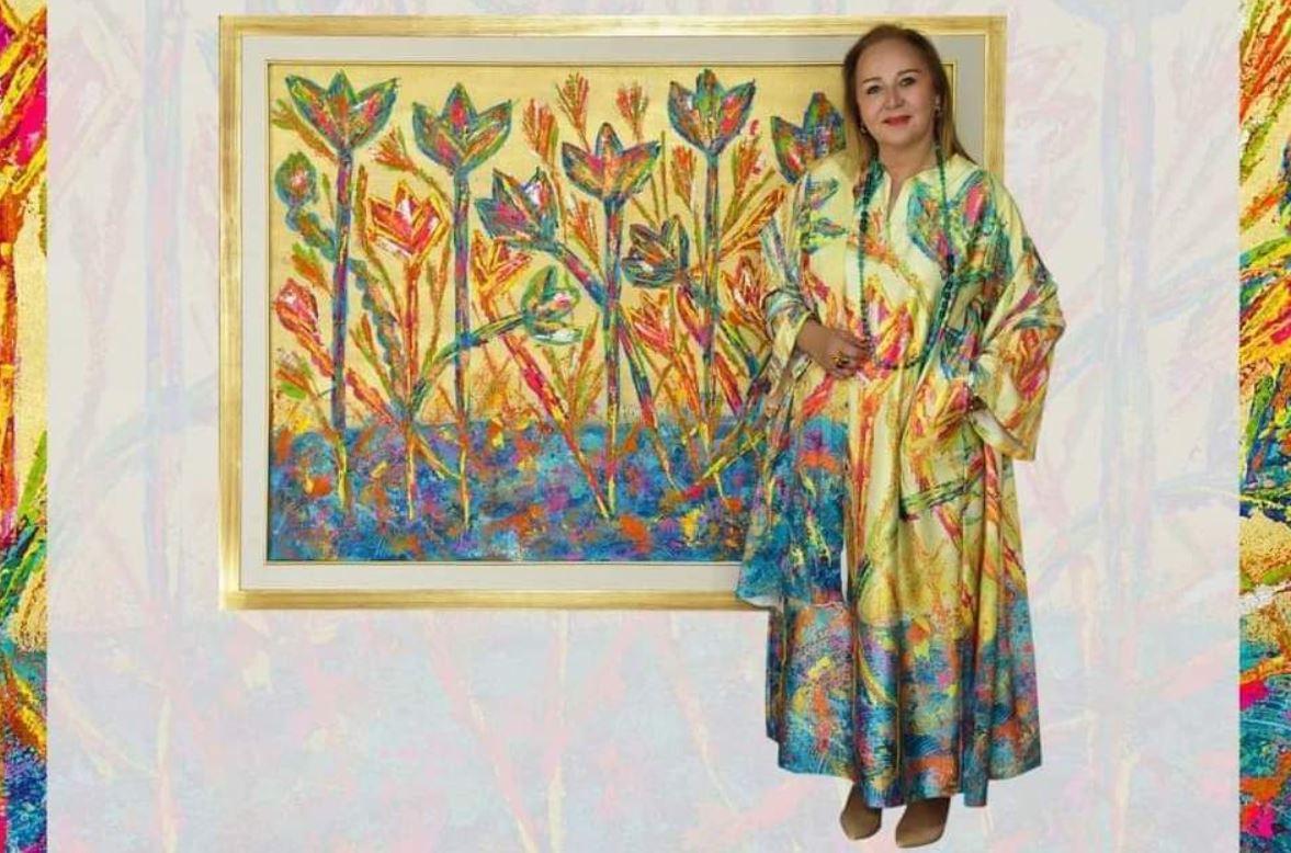 """انطلاق معرض """"طوى أرض النور"""" للفنانة رنده فؤاد في 13 مارس المقبل"""