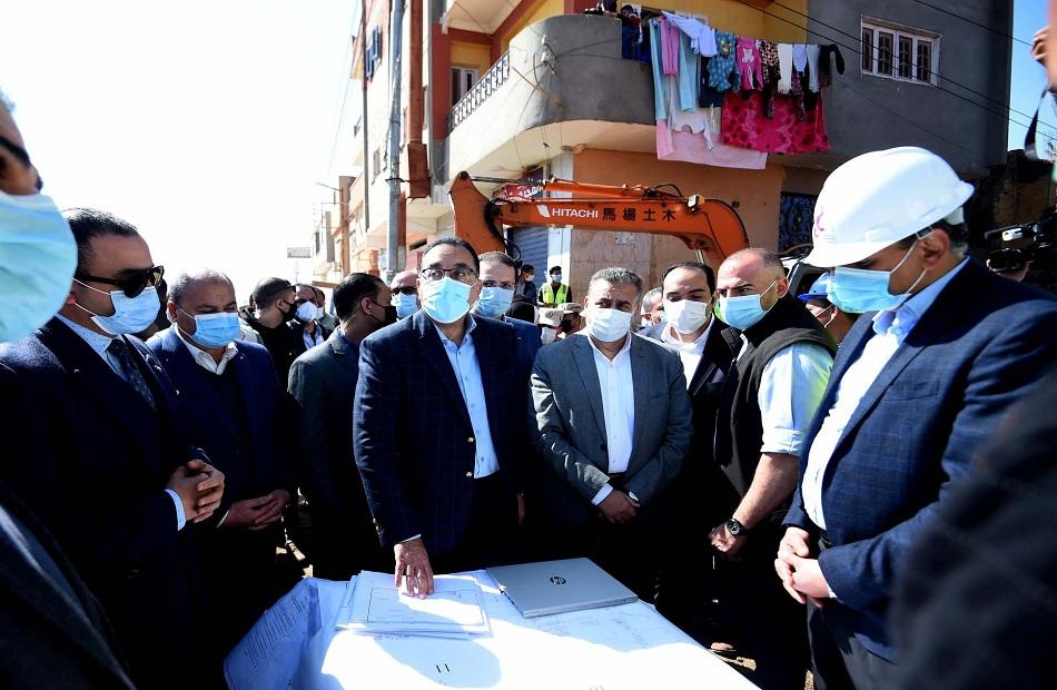 محافظ المنوفية: زيارة رئيس الوزراء تعكس اهتمام الرئيس السيسي للتعرف على موقف المشروعات