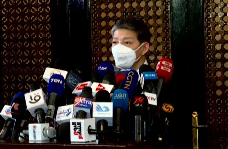 سفير الصين بالقاهرة: اللقاح الصيني أثبت فاعليته بدون آثار جانبية