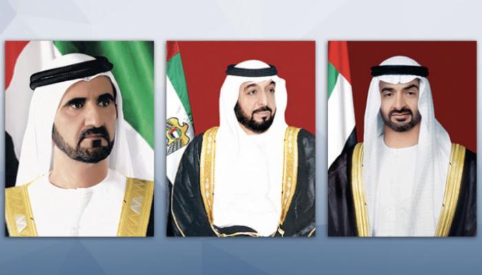 قادة دولة الإمارات يعزون الرئيس السيسي في ضحايا حادث قطاري سوهاج