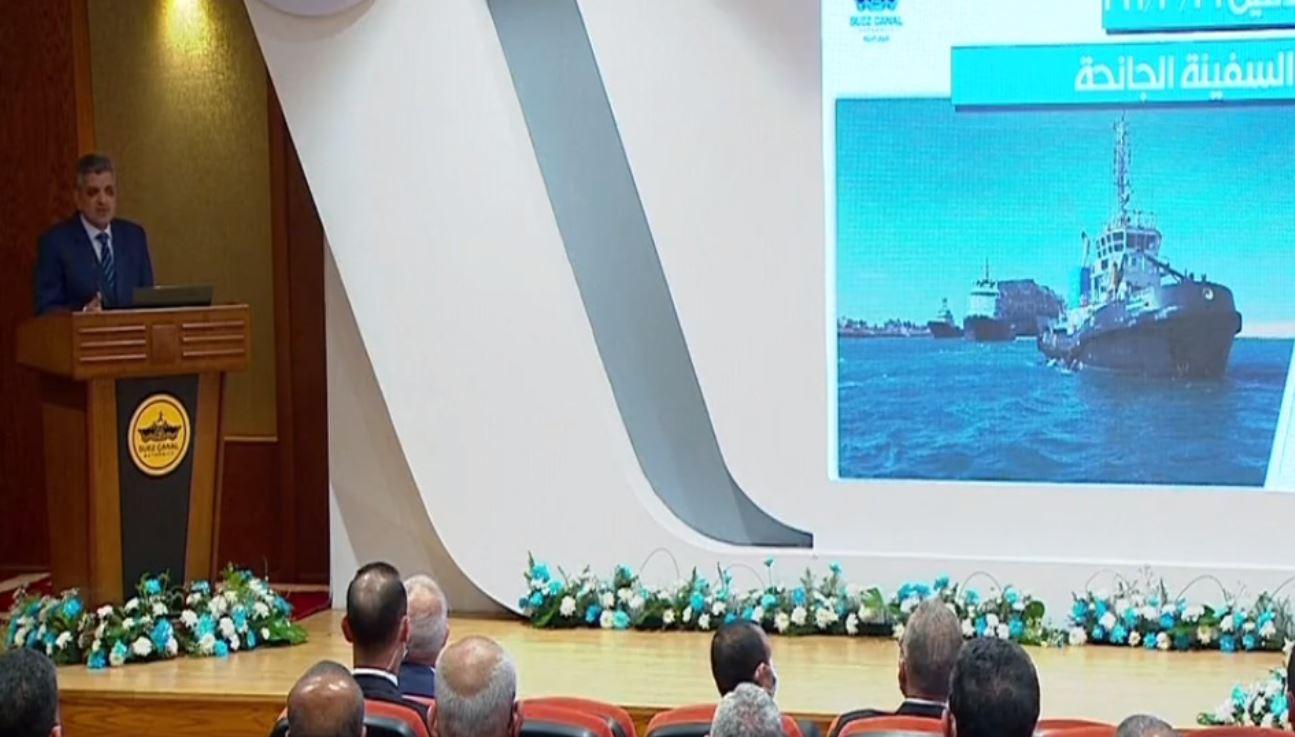 الفريق أسامة ربيع: لأول مرة في العالم يتم تعويم سفينة جانحة بحمولة 220 ألف طن دون الحاجة لتفريغها