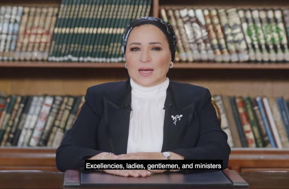 قرينة رئيس الجمهورية: مصر حققت طفرة غير مسبوقة في مجال تمكين المرأة