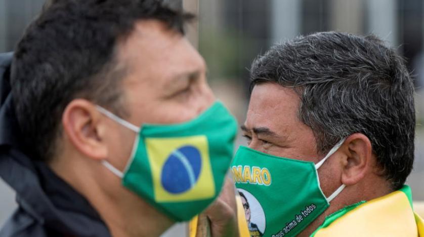 البرازيل: تسجيل 3560 وفاة بفيروس كورونا