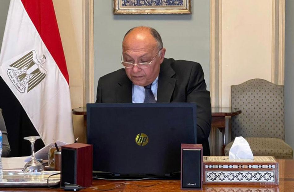 صور| وزير الخارجية يشارك في الاجتماع الوزاري لمجلس السلم والأمن الإفريقي