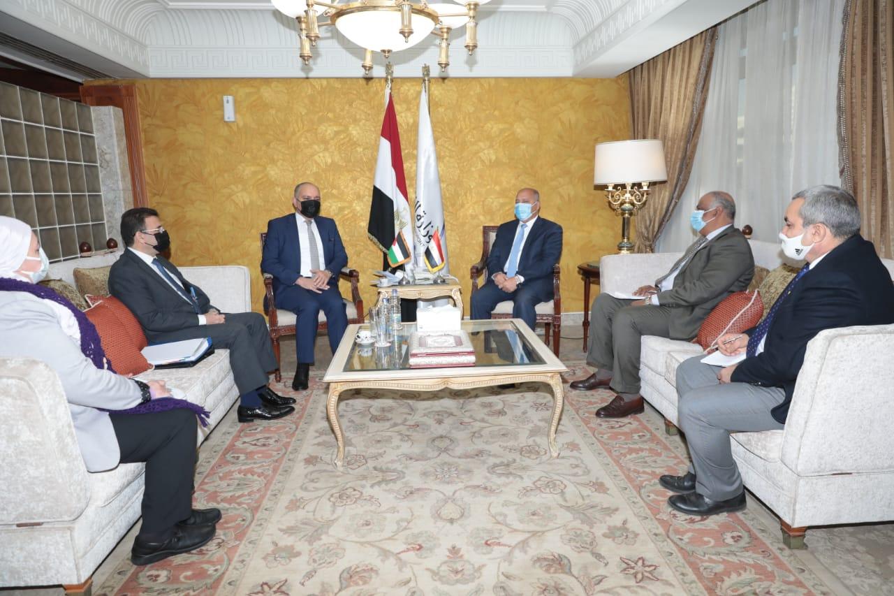 وزير النقل - السفير الاردني بالقاهرة2