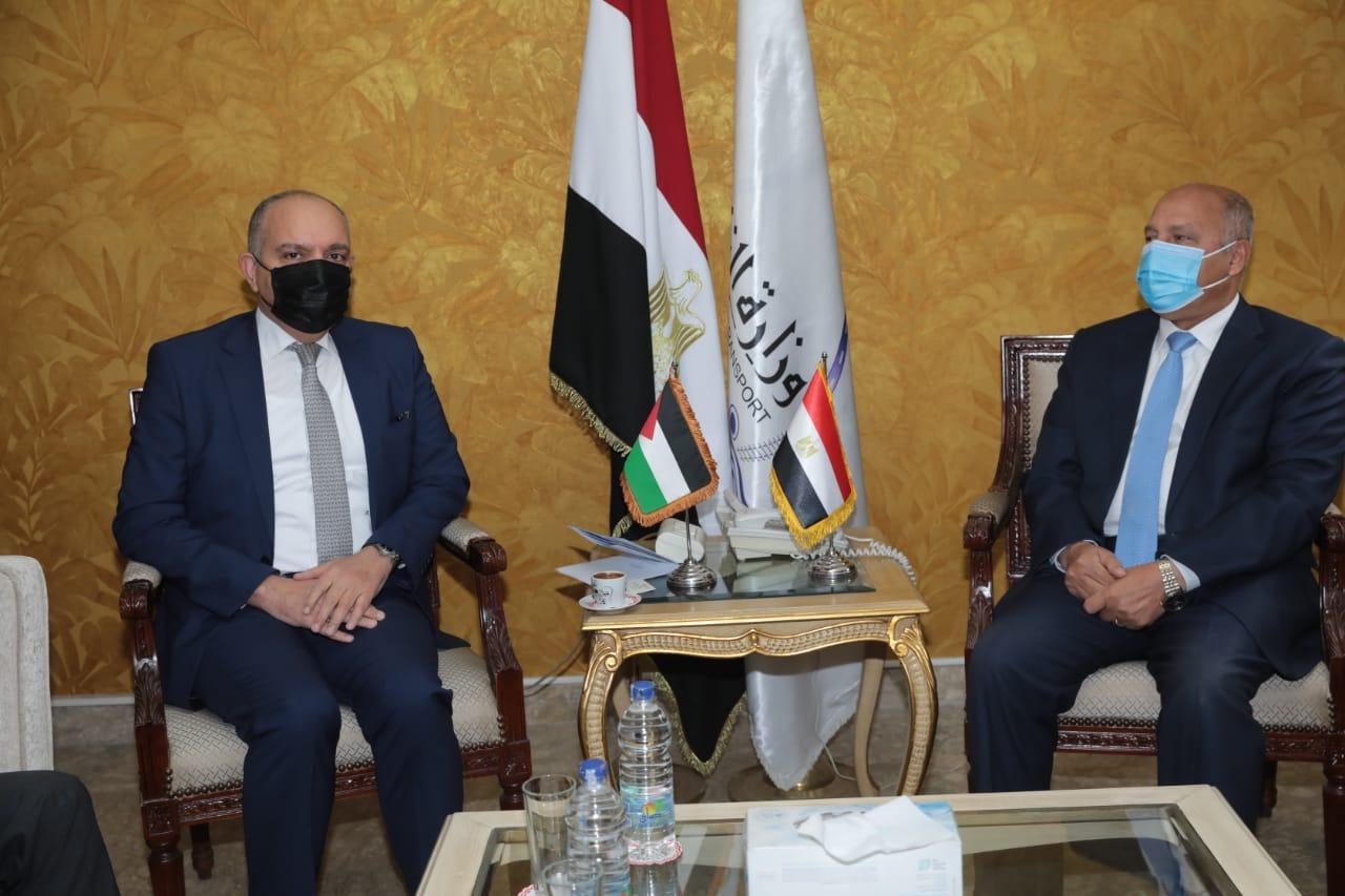 وزير النقل - السفير الاردني بالقاهرة4