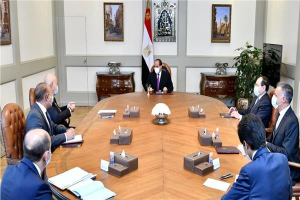 الرئيس السيسي يتابع نشاط شركة «إيني» الإيطالية في التنقيب والإنتاج