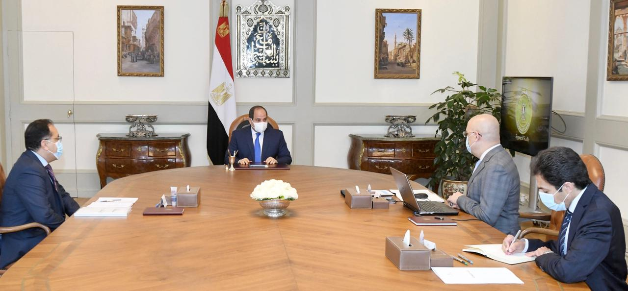 الرئيس السيسي يوجه بترسيخ الاعتماد على مسارات وآليات العمل الجديدة