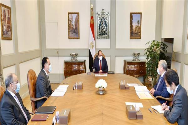 """الرئيس السيسي يوجه بزيادة عدد منافذ توزيع السلع في سلسلة معارض """"أهلاً رمضان"""""""