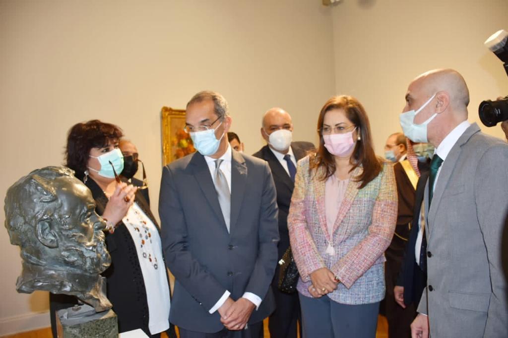 افتتاح متحف محمود خليل-2