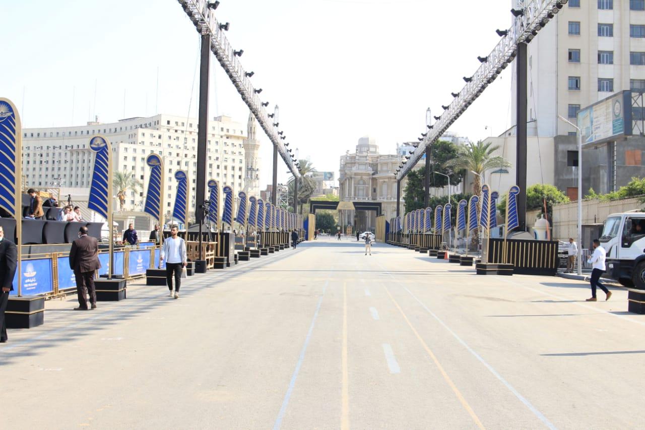 اكثر من 400 قناة أجنبية وعربية تغطي موكب نقل المومياوات الملكية