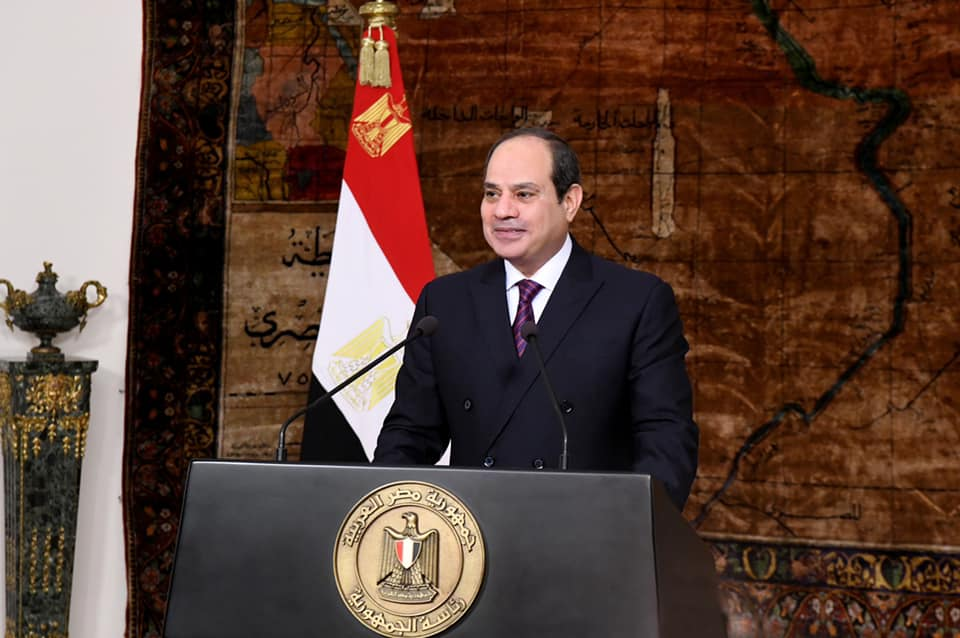 كلمة الرئيس السيسي في الذكرى الـ 39 لتحرير سيناء