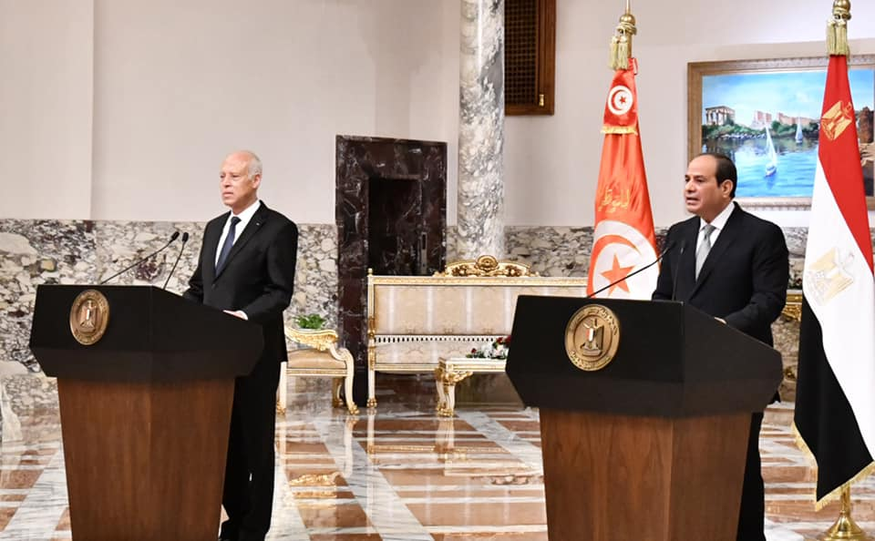 الرئيس السيسي يعلن 2022 عاما للثقافة المصرية التونسية