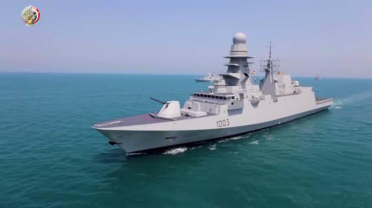"""المتحدث العسكري ينشر معلومات حول الفرقاطة """"برنيس"""" التي انضمت للقوات البحرية"""