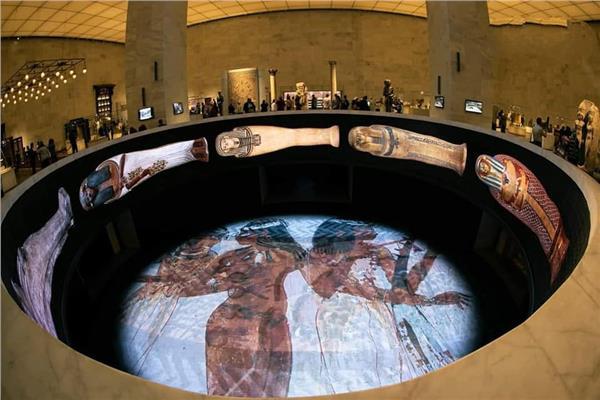 المتحف القومي للحضارة يستقبل 25 ألف زائر خلال يومي الجمعة والسبت